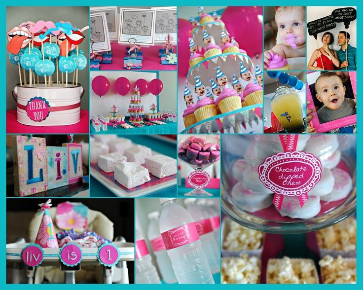 Beautiful First Birthday Home Party Ideas
