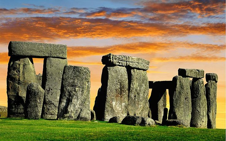 """Stonehenge was constructed by prehistoric """"cowboy builders"""" who may have left the job half finished, according to a leading historian. Professor Ronard Hutton said the building of stone circle on Salisbury Plain, Wiltshire, was a botched job by a group of people """"insane enough to want to try the experiment of working enormous stones as if they were wood"""". Interesting theory."""