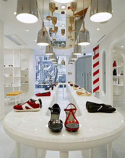 Shoe store design retail commercial interior design