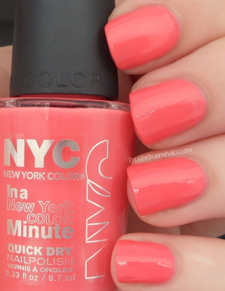 NYC Nail Polish In a NYC Minute New Pink-Spring Tulip