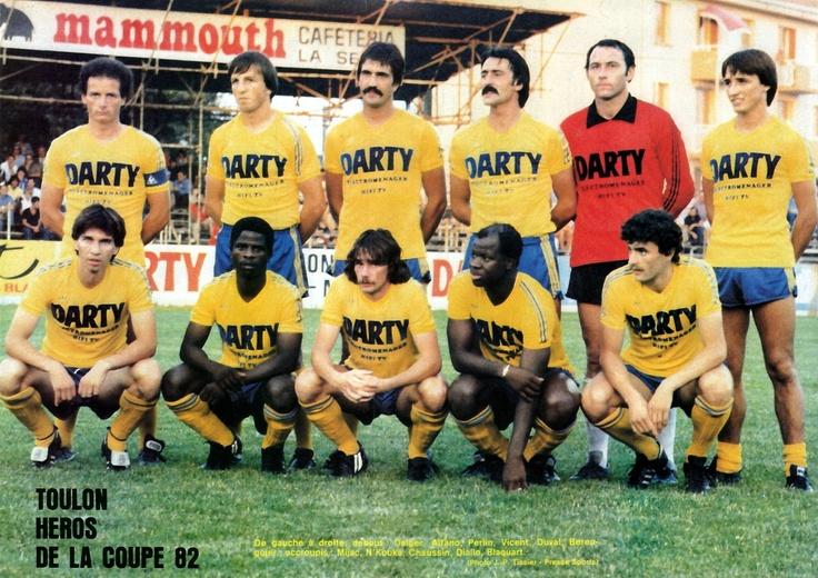SPORTING CLUB TOULON 1981 Fútbol Pinterest Toulon