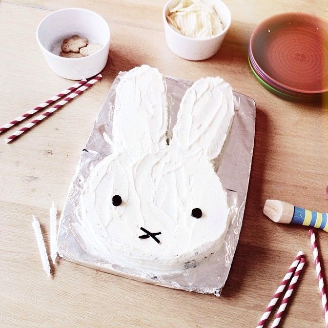 Miffy cake. But a cat