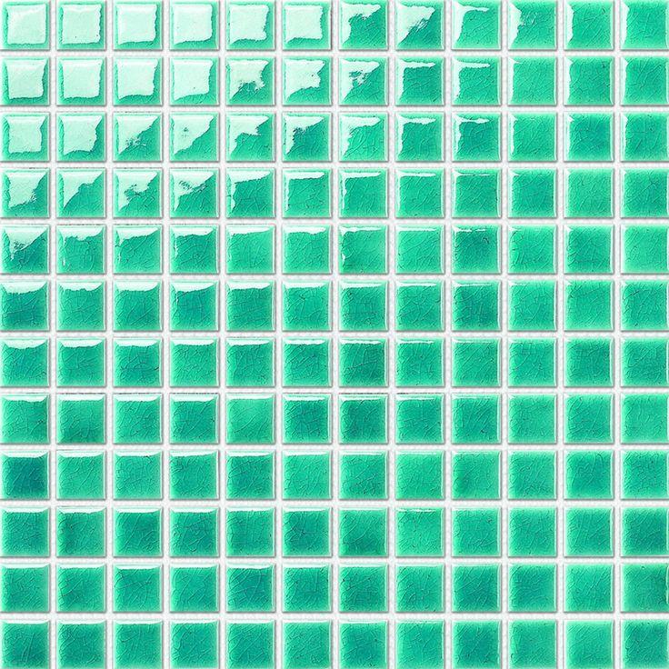 Keram.mozaika světle zelená 2,3x2,3