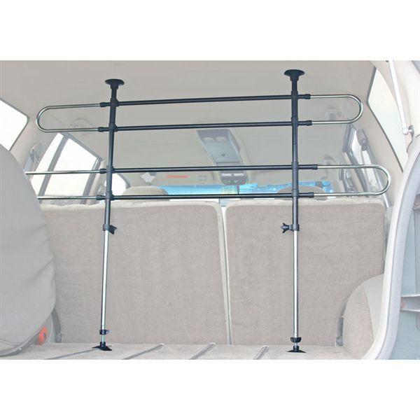 Adjustable 2 Bar Deluxe Vehicle Pet Barrier PB-DLX | DiscountRamps.com