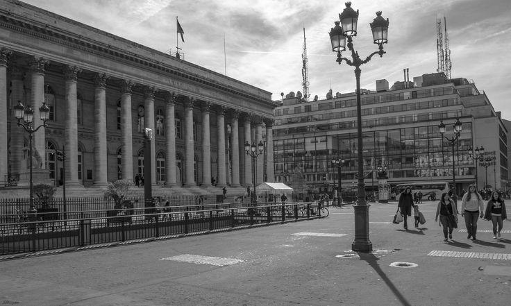 Paris - Palais Brogniart et l'AFP