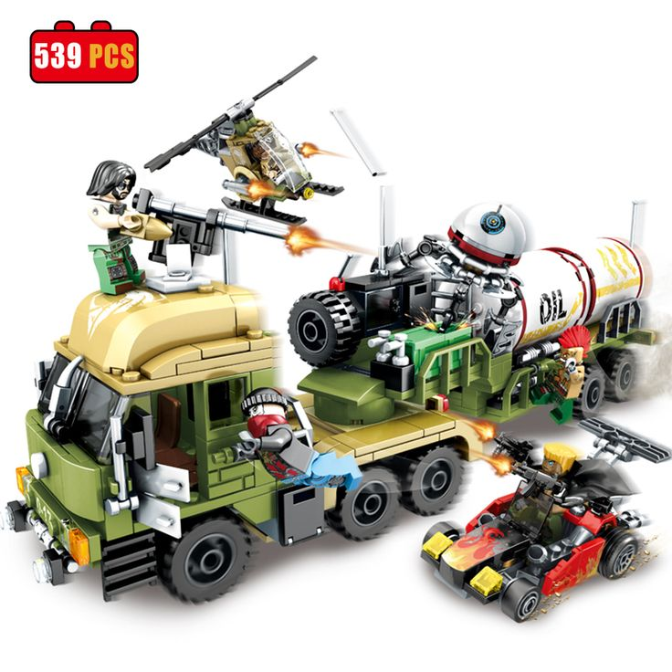 Military Oil Tanker Helicopter Car Building Blocks Fit Lego Bricks Army Toys #Brick #toy #building #minifigure #custom #minifigures # lego #military  #army #ww2 #toys #hobbies #blocks #figure #soldiers #tank #car #weapon #toys #childrentoys #DIY #educationaltoys