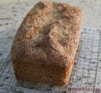 Pão 100% Integral super fácil que não precisa nem sovar.