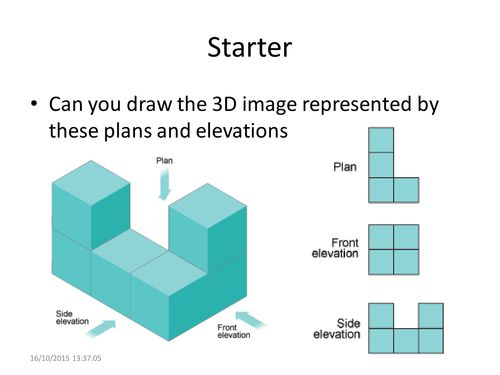 Plan Front Elevation Side Elevation Maths : Best ideas about isometric drawing on pinterest