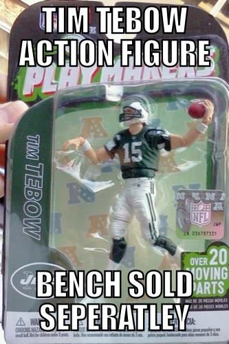 Tim Tebow Action Figure… | NFL Memes, Sports Memes, Funny Memes, Football Memes, NFL Humor, Funny Sports