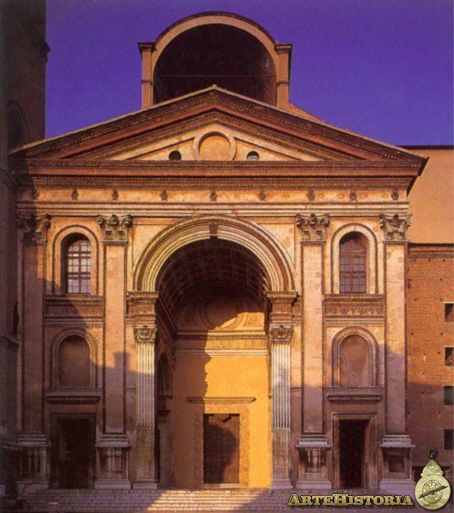 Alberti iglesia de san andr s mantua 1472 arte for Architecture quattrocento
