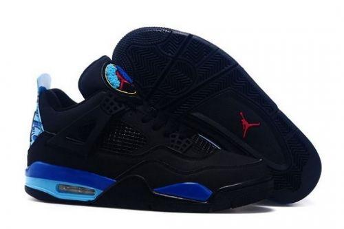 hot sale online e8c61 f0848 Purchase Custom Air Jordan 4 Retro Black and Aqua - Mysecretshoes