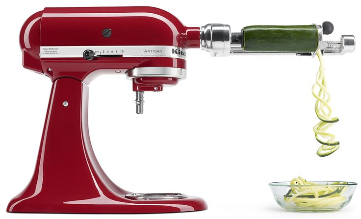 Downloadable Spiralizer Recipe Booklet In The Kitchenaid