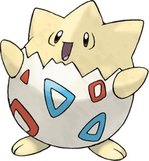 I find myself short of words to describe the cuteness of this Pokemon. Togepi is even smaller in size than Pikachu and is undeniably cute. This is my favorite Pokemon, and no Pokemon comes even close to its cuteness. Misty has a Togepi. Togepi finds itself in trouble almost always, it's just like a small baby! Don't you agree Togepi is the cutest Pokemon,and the most adorable, and most lovable Pokemon as well? personally i dont think so....comment what you think the cutest pokemon is :)