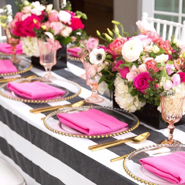 Backyard Bridal Shower! #kate_spade
