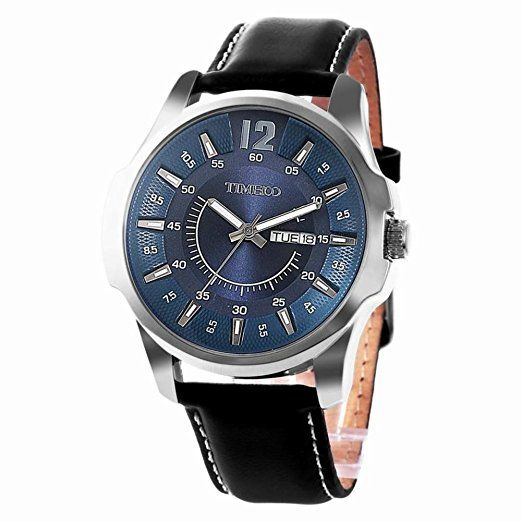 Multifunction leather fashion watch/Waterproof watch/Male quartz watch/Watch/Men's Watch-C