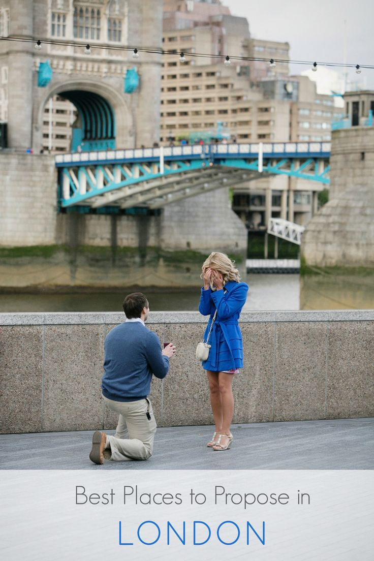 Best places to propose in London.