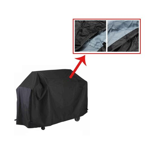 Water-resistant BBQ Cover Garden Patio Rainproof Dustproof Sunscreen Gas Barbecue Grill   Protector 145  61  117cm