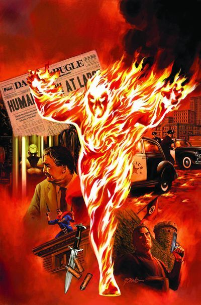 302 Best Images About Comic Art 27 Fantastic 4 Human Torch