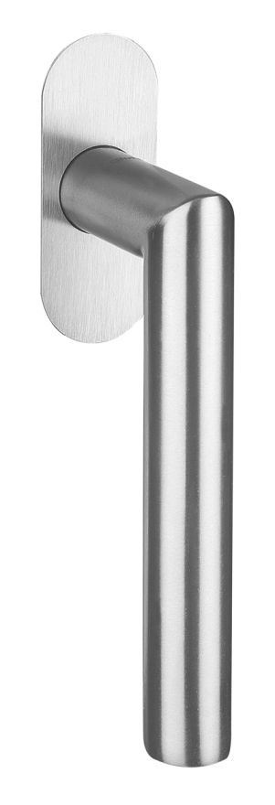 50001/51101 FF Stainless steel window handle flush mounted