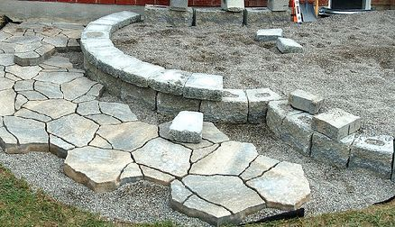 The Proper Use Of Patio Pavers Can Create Awesome Stone Landscaping  Designs. There Are Several Ways In Which To Lay Resin Patio Pavers. The  Method U2026