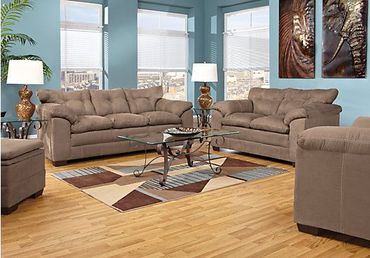 Shop for a valley vista 5 pc living room at rooms to go for Find living room furniture