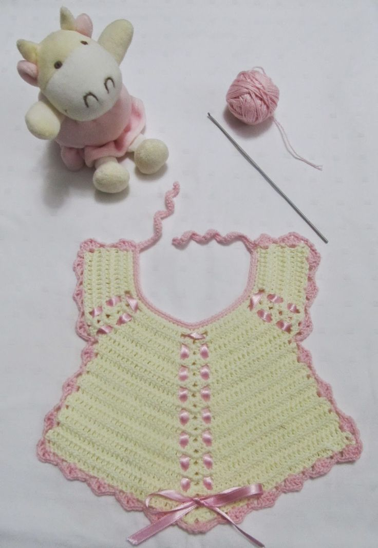 Mimos de crochet: Babete Vintage (PAP)