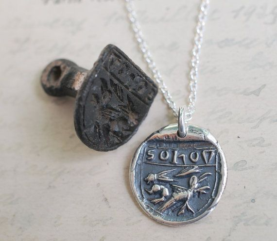 hare and crow hunting necklace  hare and crow by suegrayjewelry