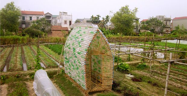 Nursery made of bamboo and recycled plastic bottles - 1+1>2 International Architecture JSC - Vietnam