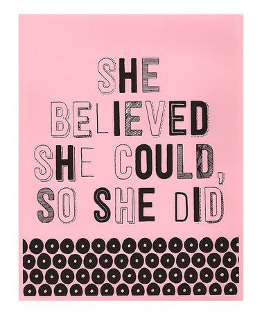 she believed she could, so she did. #zulilyprint #ad *love