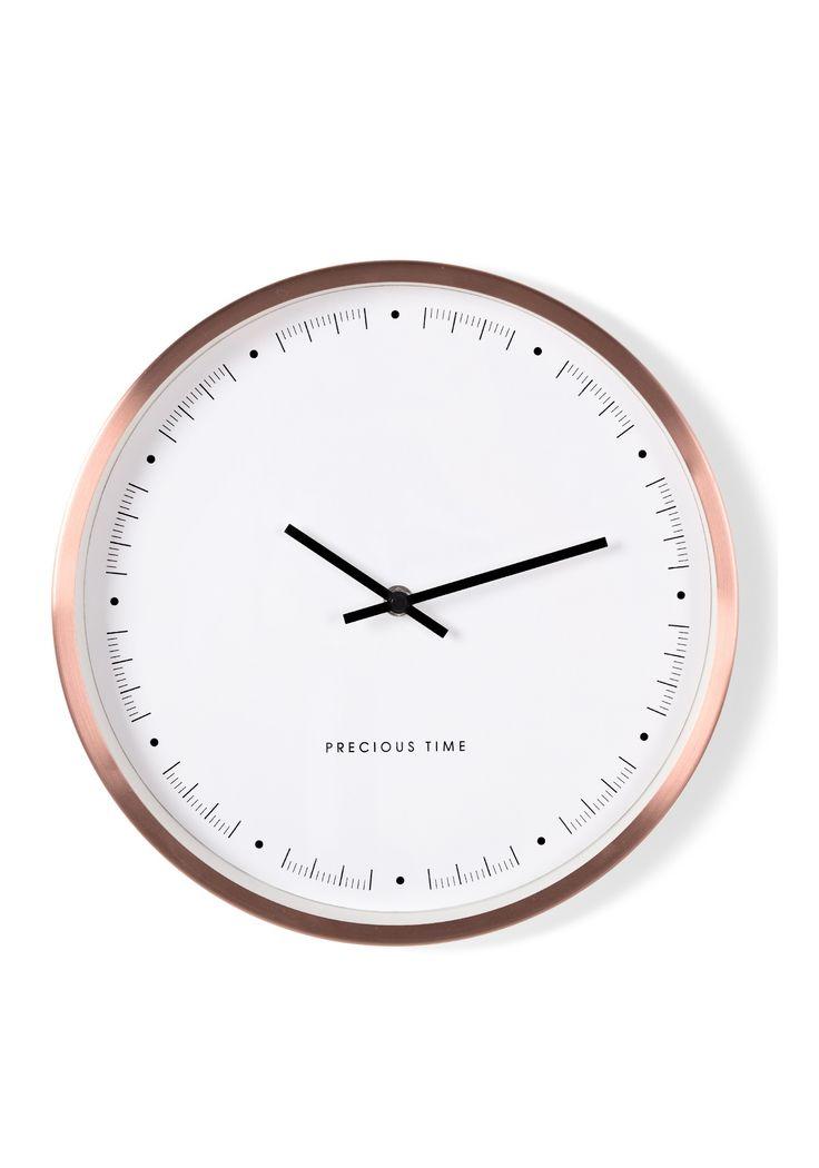 Aurelia Wall Clock Copper