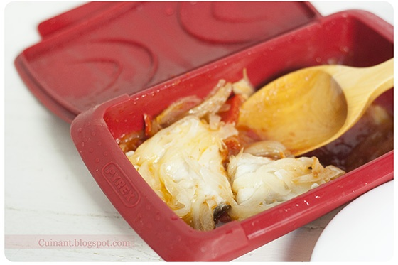 Bacalao con Tomate, Cebolla y Pimiento (Cuinant)