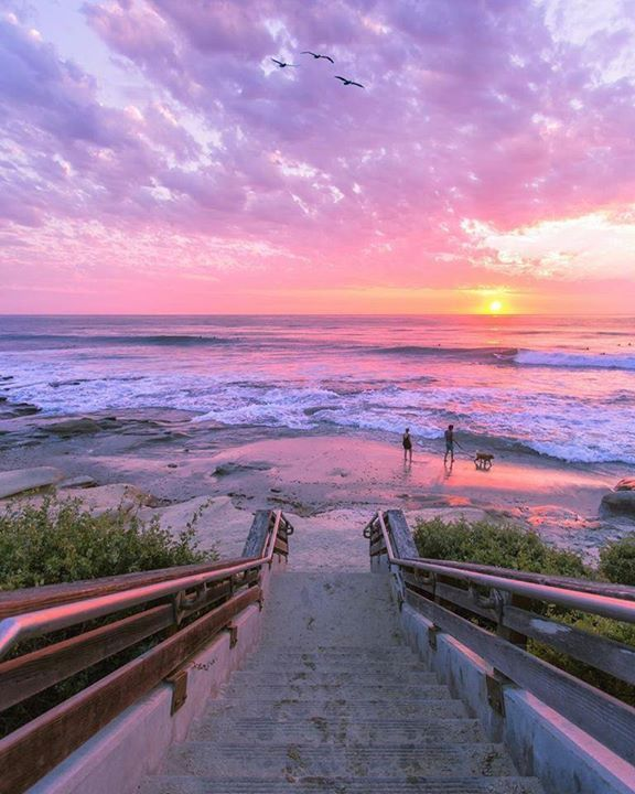 Walk by the beach La Jolla California US | Eric Rubens Photography Say Yes To Adventure
