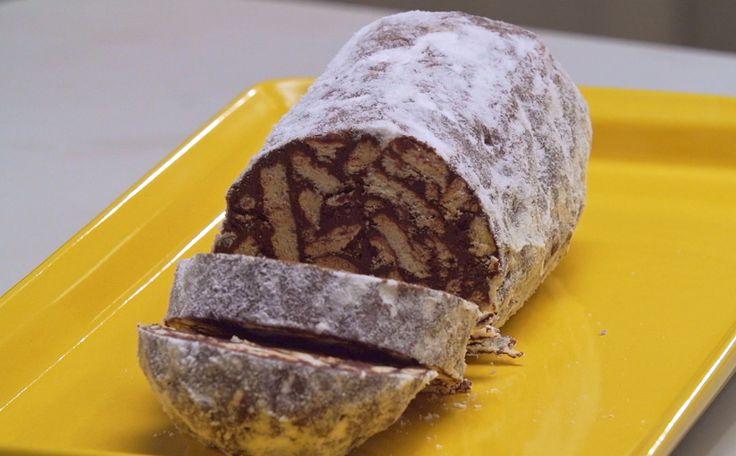 Salame de chocolate: além de lindo, esse doce é fácil de fazer em casa e agrada todos os gosto