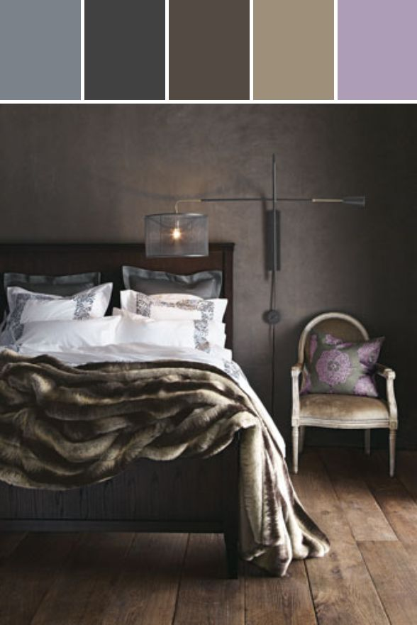 """""""Plumes"""" Bed Linens Designed By Horchow via Stylyze #colourpalettesilove"""
