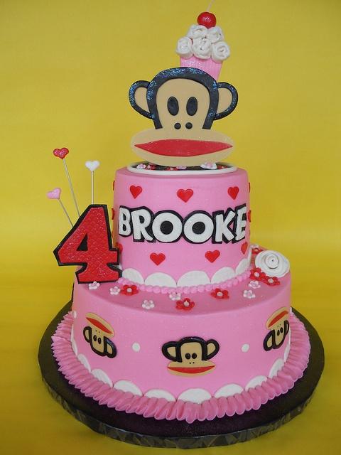 Monkey Birthday Cake.