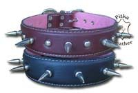 Spiked dog collars extra large