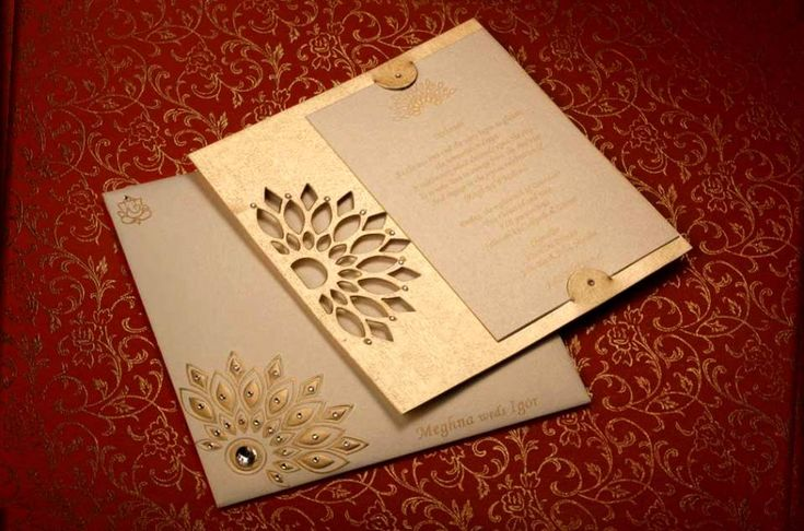 Wedding cards designs india wedding images pinterest for Laser cut wedding invitations in chennai