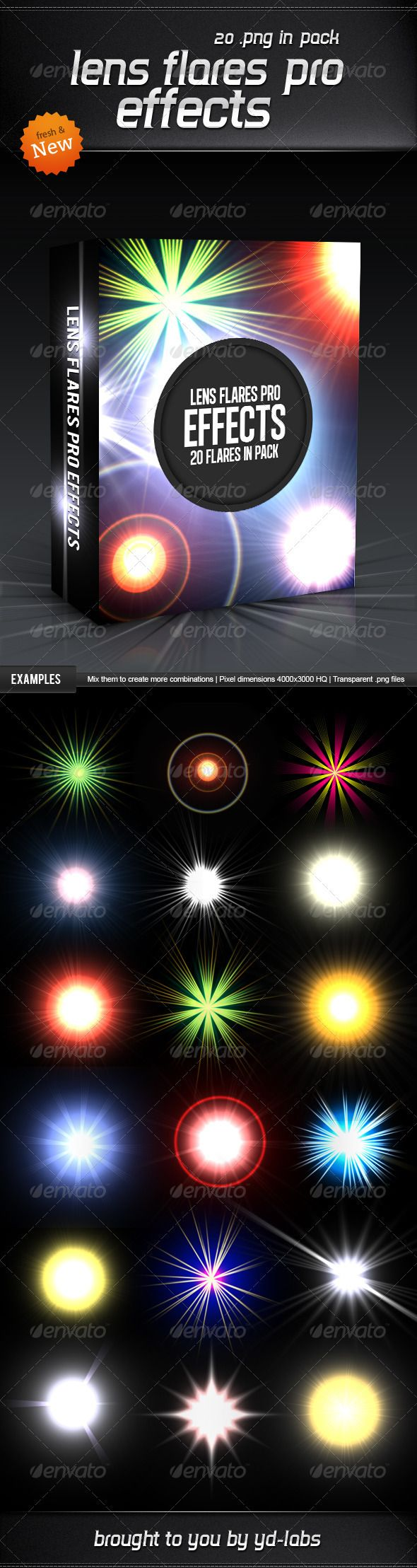 Lens Flares Pro Effects - #Decorative #Graphics Download here: https://graphicriver.net/item/lens-flares-pro-effects/3628831?ref=alena994