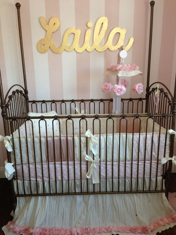 43 best images about Nursery: pink white silver gold on Pinterest ...