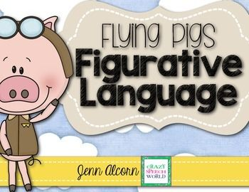 Work on building your students' comprehension and expressive use of figurative language skills with this fun pack of activities!  This 32 page packet targets idioms, common proverbs, similes, & metaphors.  Included in the download are:Idioms cue card with definition & example15 idioms & definition matching cards 32 idiom cards Proverbs cue card with definition & example 20 proverbs & definition matching cards Student figurative language graphic organizer Simile cue card wi...