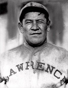 Jim Thorpe - one of the greatest athletes. All-American gold medalist in pentathlon & decathlon. He played football, baseball & basketball professionally.