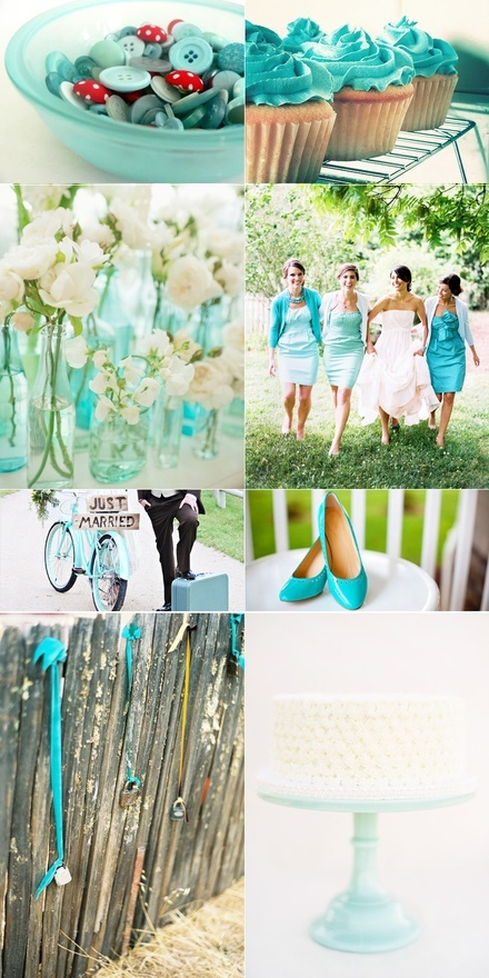 TEAL  MINT WEDDING COLORS wedding-inspiration: Teal Wedding, Wedding Colors, Dream Wedding, Joo S Wedding, Mint Colors, Mint Weddings, A Teal