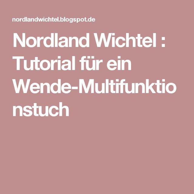 Nordland Wichtel : Tutorial für ein Wende-Multifunktionstuch