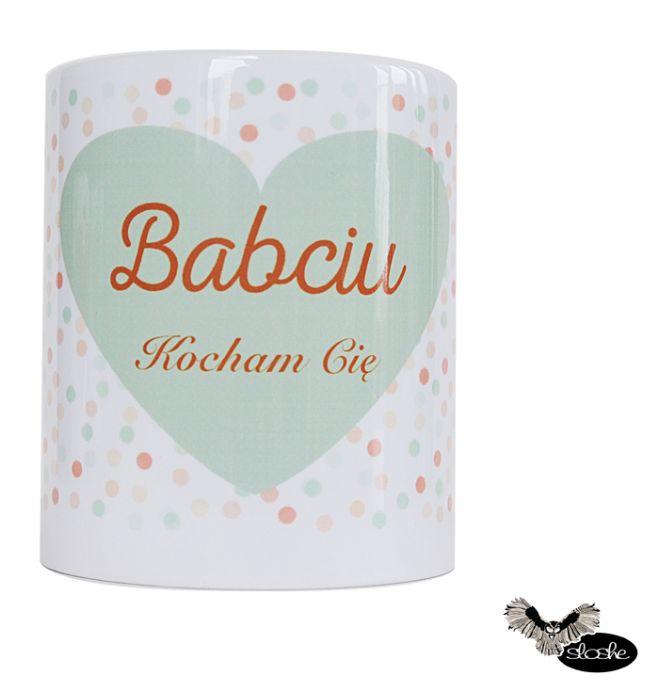 Babciu, Kocham Cię, kubek ceramiczny 450/330ml
