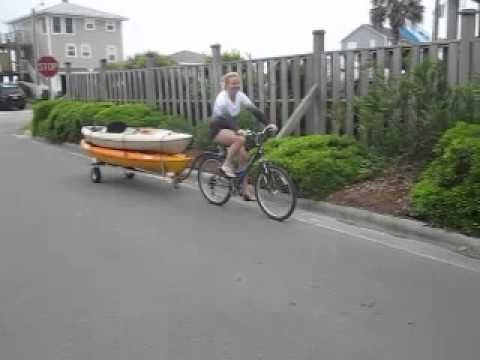 Bike Kayak Trailer - English