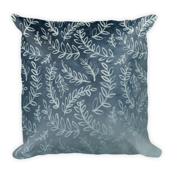 Square Pillow – Metallic Blue Throw Pillow     http://classicbeautydesigns.com/product/square-pillow-metallic-blue-throw-pillow/