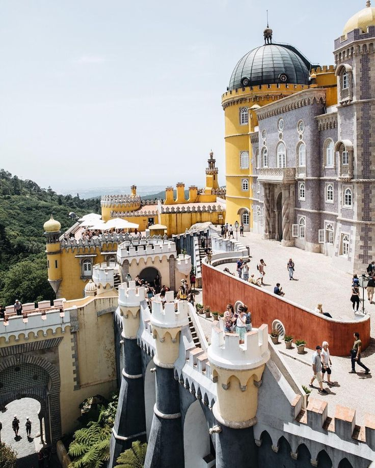 The Pena Palace was even more spectacular then I could have ever imagined. The inside has been so well preserved and presented you have such a feel for what it was like 100 years ago. A must see if you visit Lisbon.