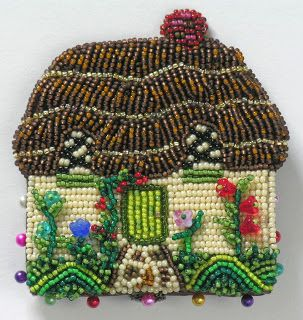 Idele Gilbert Miniature Beaded Bears and Other Animals: April 2011