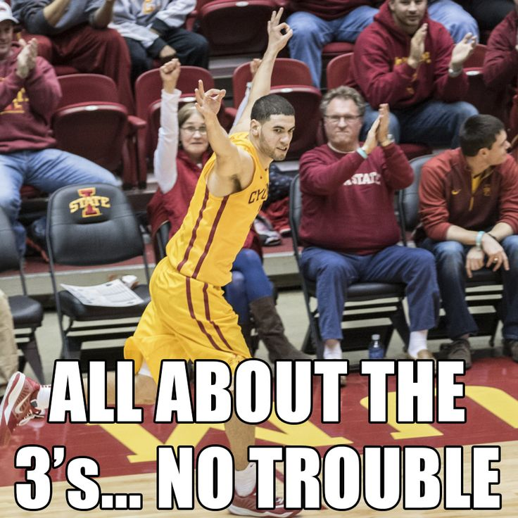 All about the 3's... No trouble. Iowa State Cyclones.