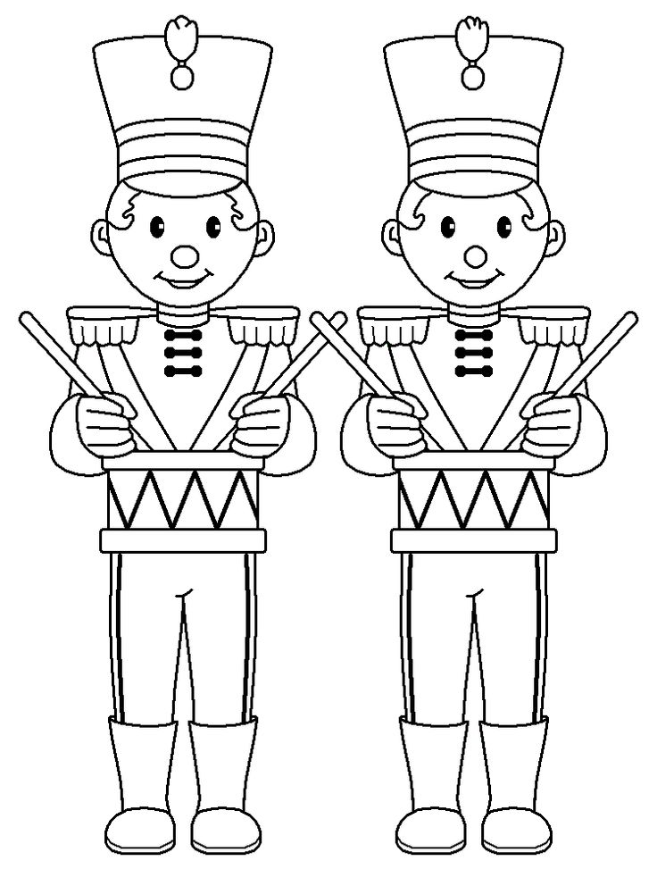 Drummer Boys....DZ Doodles Digital Stamps